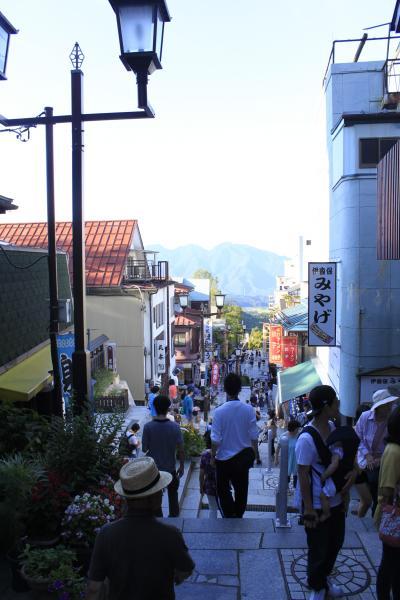 長野&群馬ツーリング、その3★ミッション完了は、伊香保温泉にて。
