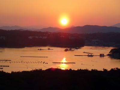 伊勢志摩の旅2 -志摩観光ホテルベイスィートに宿泊、日本料理 鯛で絶品料理、ラストは、あつた蓬莱軒のひつまぶし。