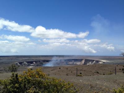 ハワイ島の旅 3日目:キラウエア火山、プナルウ黒砂海岸