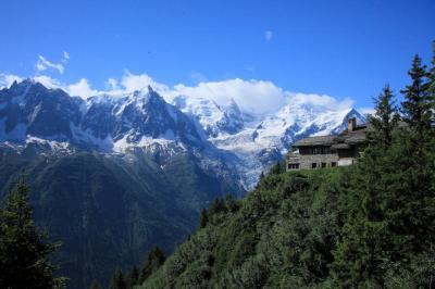 スイスの旅 2014 2/17  プレバン展望台からの眺望