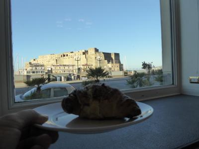 真夏の優雅な南イタリア旅行 Napoli×Puglia♪ Vol19(第3日目朝) ☆ナポリ(Napoli):グランド・ホテル・サンタ・ルチア(Grand Hotel Santa Lucia)の朝食♪