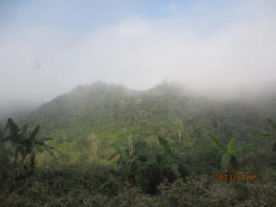ラオス北部紀行(105)ルアンナムターからタイ国境の町フアイサーイへ。