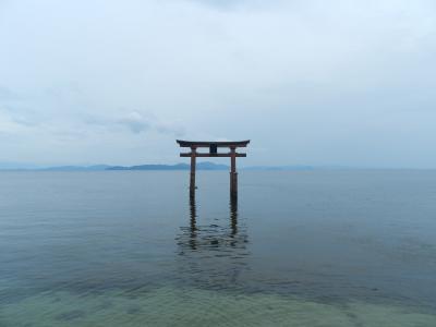 『白髭神社』~『カフェ・ラック』でランチ(滋賀県高島市)◆2014年盛夏・4人でプチオフ会≪前編≫