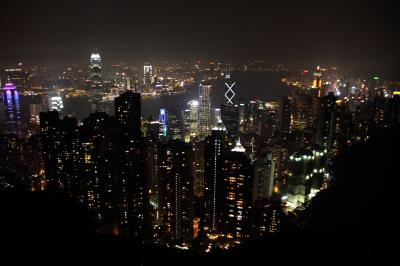 子連れ旅行 香港(その1) 羽田発JAL&キャセイで行く香港 100万ドルの夜景を見に行くのだ