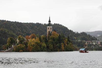 スロベニアのブレッド湖・ポストイナ鍾乳洞・クロアチアのプーラ