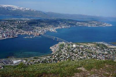 団塊夫婦のノルウェー絶景ドライブ旅行ー(10)ノルウェー最後の絶景・トロムソの眺望