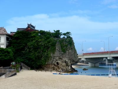 2014.6沖縄とんぼがえり2-久米至聖廟(旧・新),波上宮,波上ビーチ
