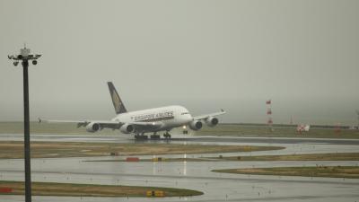 A380がセントレアにやって来た!