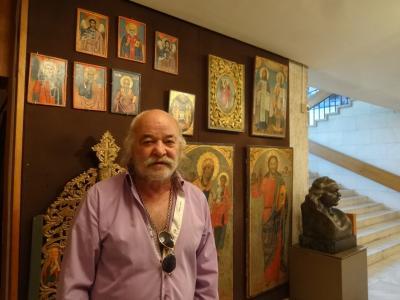 ボヤナ教会と国立歴史博物館(ブルガリア) 2014.8.9