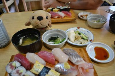 暑い夏に伊東でお寿司~マックスバリュー!食べログで人気の美味しい寿司屋さん。