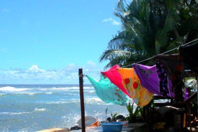 ミクロネシアでホームステイ。【コスラエ】の旅(1)~TVのない素敵な時間