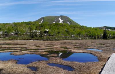 札幌出張・ニセコへドライブ4-神仙沼湿原,神仙沼,再度ニセコに降りる