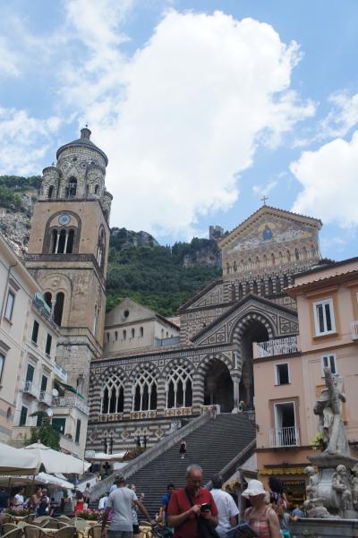 南イタリア・ギリシャ珍道中14日間④アマルフィ