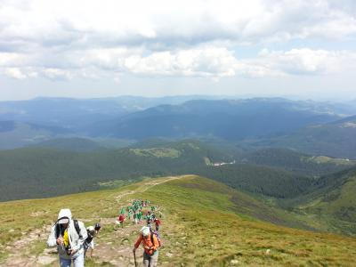 Ukraine (3) Yremche Mt. Hoverla 2061m ウクライナ最高峰登頂