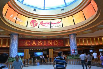 ふらっとシンガポール(2日目) カジノへ