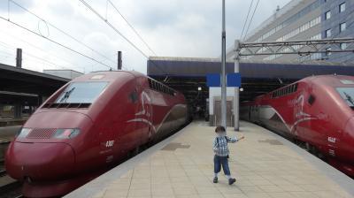 2014夏 ドイツ・ベルギー母子旅 2-1. <ICEとタリスに乗り、フランクフルト~ケルン~ブリュッセルへ>