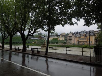 初めてのオーストリア  ③大雨の中バートイシュルヘ