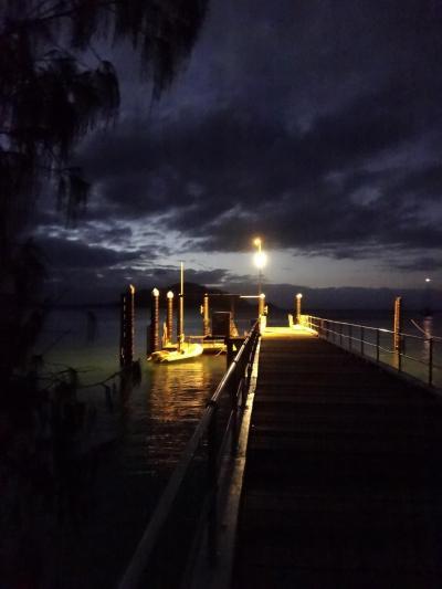 2012年秋はオーストラリアに行ってみました。(4)フィッツロイ島の夜