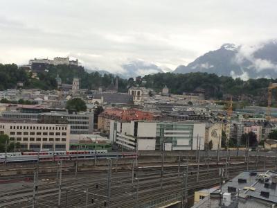 初めてのオーストリア ➅ ザルツブルグ鉄ちゃんホテル