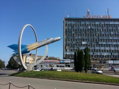 Ukraine (1) Vinnytsya, Uman チャイコフスキーとハイテク噴水