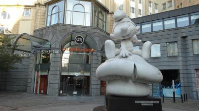 2014夏 ドイツ・ベルギー母子旅 2-2.<漫画・美食の都ブリュッセル>