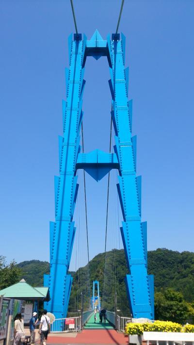 2014年8月 茨城日帰り旅行♪竜神大吊橋~袋田の滝~大子♪