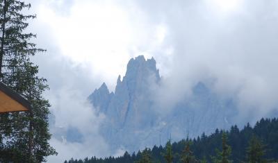 オーストリア三大名峰山麓ハイキング10日間の旅⑥ロンボー峠~M.ジョヴォ峠~イタリア・ドロミテ・フネス谷へ