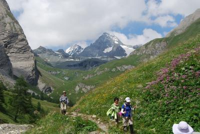 オーストリア三大名峰山麓ハイキング10日間の旅(8)グロースグロックナー山麓ハイキング
