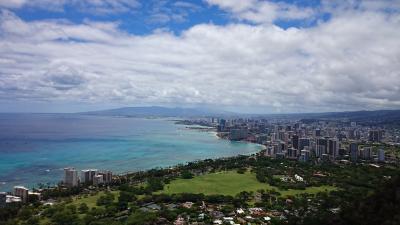 2014☆ハワイ8泊10日 ⑦ダイモンドヘッド登山とシェイブアイスで絶景・絶品を味わう6日目