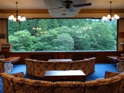 2014夏 谷川岳が望める宿        谷川温泉 檜の宿 水上山荘