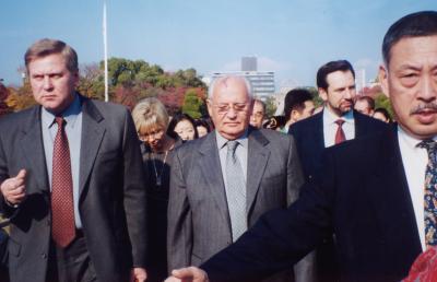 はじめに(砂布巾のLW)+広島を訪問したノーベル平和賞受賞者