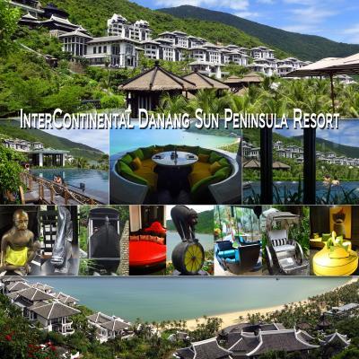 ベトナム、ハノイ・ダナン・ホイヤンの旅 5 -InterContinental Danang Sun Peninsula Resort(インターコンチネンタル ダナン リゾート)宿泊編2-