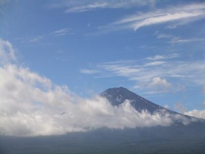 かちかち山からの富士山~河口湖遊覧