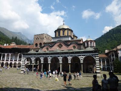 コーカサス&ブルガリア・セルビアの旅(1) ソフィア&リラの僧院