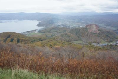 晩秋の北海道旅行(その2:真狩村、洞爺湖、ニセコ、小樽)