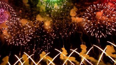 やっぱりいいなぁ~赤川花火大会2014♪