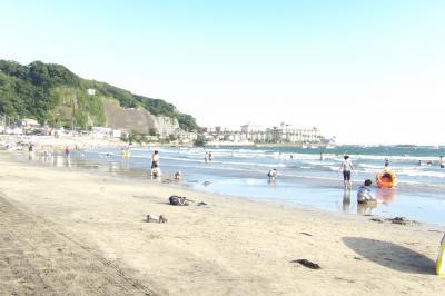 鎌倉材木座海岸-2014年夏