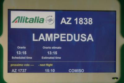 そうだ!イタリアへ行こう!~ランペドゥーサ島へ~①