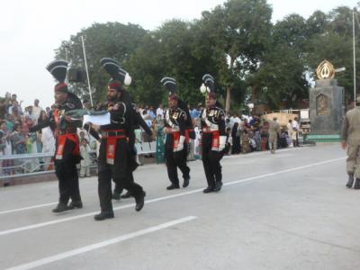 2014パキスタン   ワガー国境