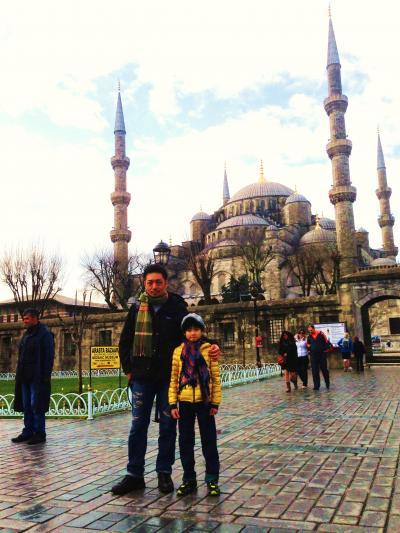 トルコ子連れ2人旅 -父と息子(小学1年)のイスタンブール編