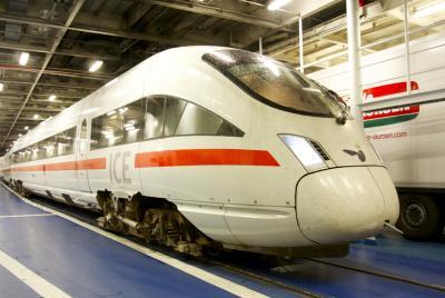 14'初めての夏のヨーロッパ!(ベルリン・コペンハーゲン+α)【4】~ 渡り鳥ライン・列車でフェリーに乗り込んで