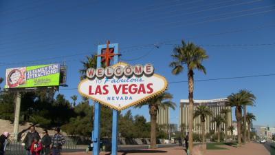 2013年ベガス旅行記-その6(ベガス6日目 Welcome to Fabulous Las Vegas Sign & Pinball Hall of Fame)