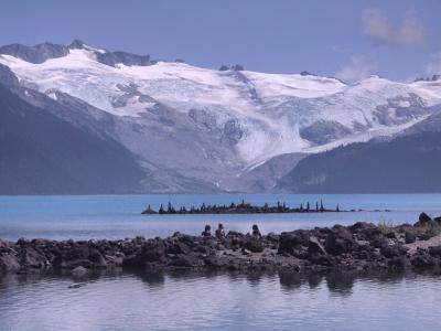 氷河と氷河湖 絶景の景色にうゎお~~~と叫ぶ ガリバルディ・レイク