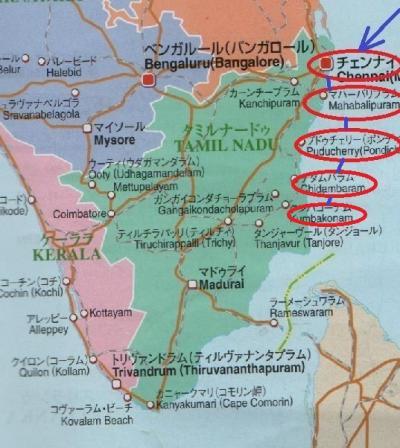 東南アジア&南インドフラフラ旅日記2014(31)チダムバラム→クンバコーナム