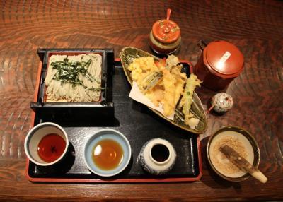 小嶋屋総本店 長岡喜多町店で天ぷら蕎麦を食べる
