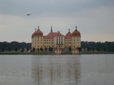 とんでも♪ドライブ旅~チェコ・ドイツ ⑧湖上に古城~モーリッツブルグ城