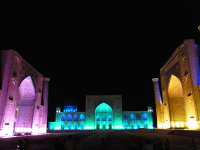 Samarkand 2014年8月 2