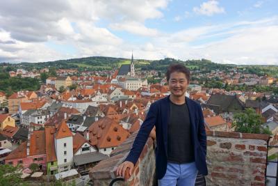 世界で最も美しい街チェスキークルムロフへ