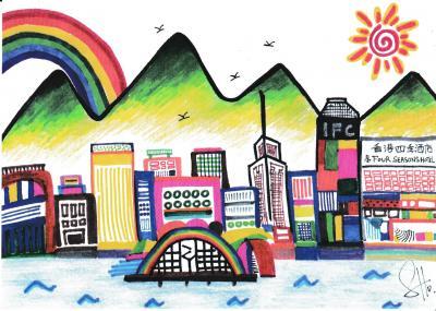 2014 ビクトリアハーバー を 香港島 から眺める旅! Vol.2 香港四季酒店 エグゼクティブクラブラウンジでアフタヌーンティー 【2014年8月14~2014年8月17日】