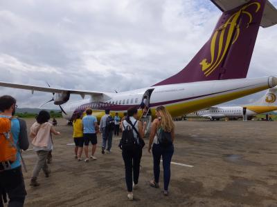 2014年8月7日~21日 ミャンマー・バンコク観光 16 国内線飛行機酷暑編 8月14日 ③